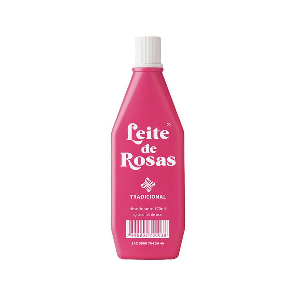 leite de rosas 170ml tradicional