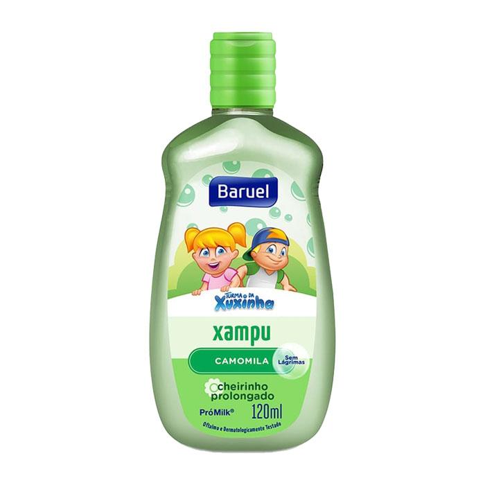 shampoo turma da xuxinha 120ml camomila