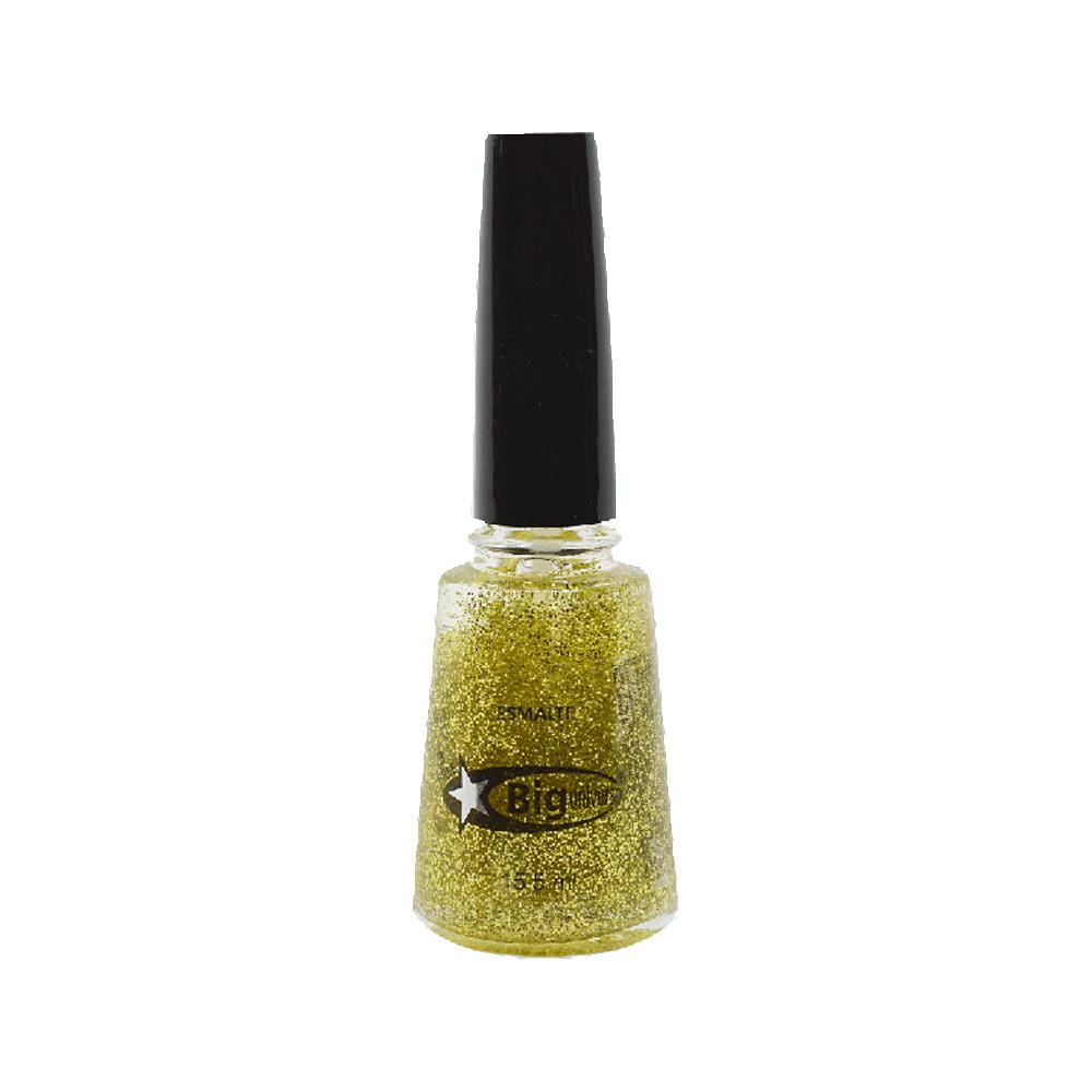 esmalte big glitter dourado 15,5ml