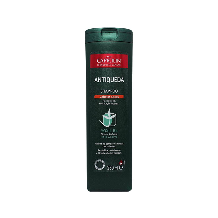 shampoo capicilin antiqueda cabelos secos 250ml