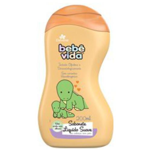 bebe vida davene sabonete liquido suave 200ml
