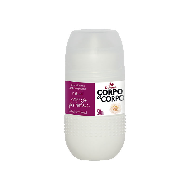 desodorante davene corpo a corpo natural 50ml