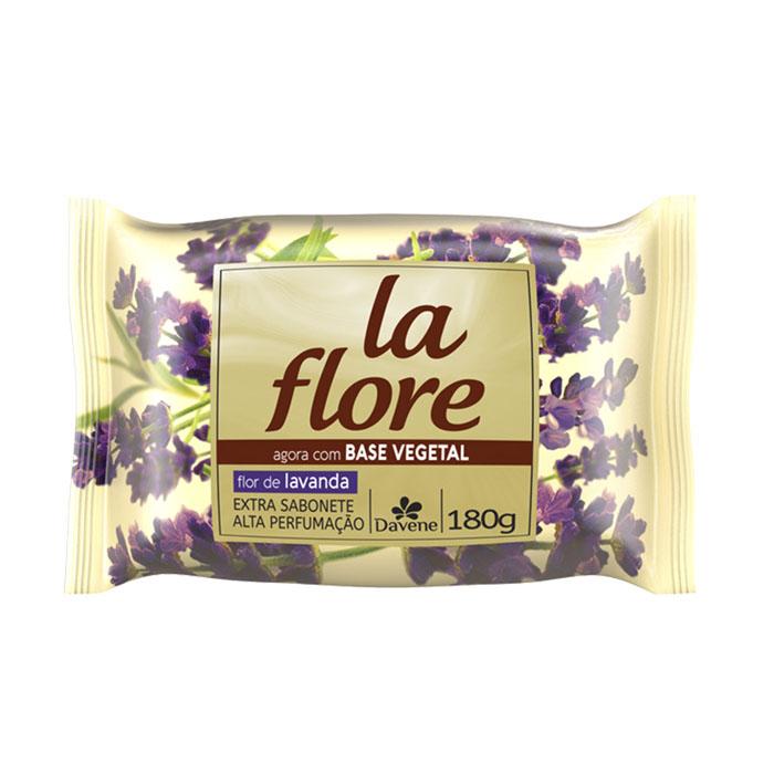 sabonete davene vegetal la flore lavanda 180g