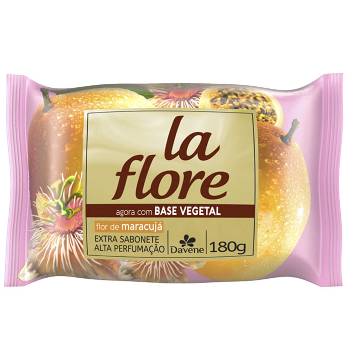 sabonete davene vegetal la flore maracujá 180g