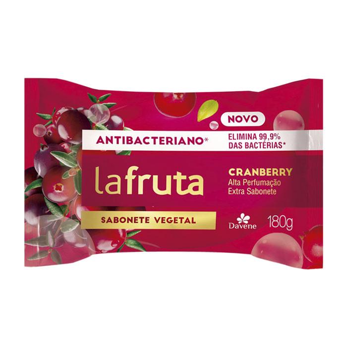 sabonete davene vegetal la fruta antibacteriano cranberry 180g