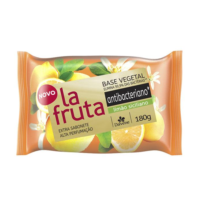 sabonete davene vegetal la fruta antibacteriano limao sicilian 180g