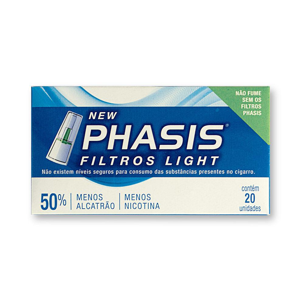 filtro daxx cigarro phassis light cx 20un