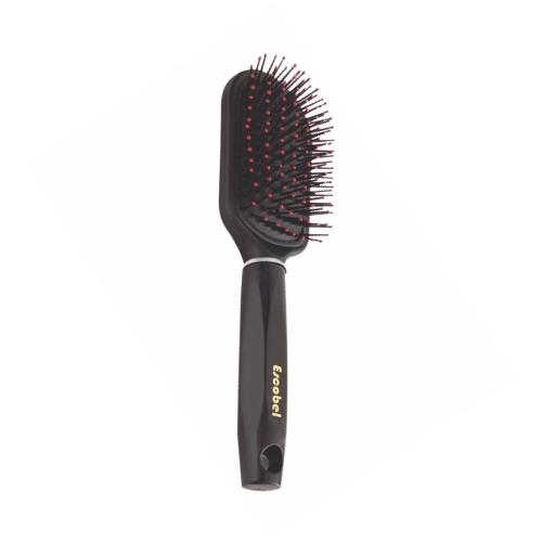 escova de cabelo escobel especial almofada retangular ref748