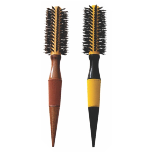 escova de cabelo escobel profissional nylon e javali 20mm un ref847