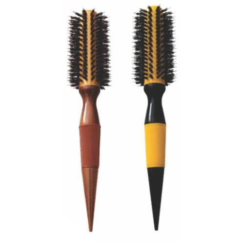 escova de cabelo escobel profissional nylon e javali 25mm un ref854