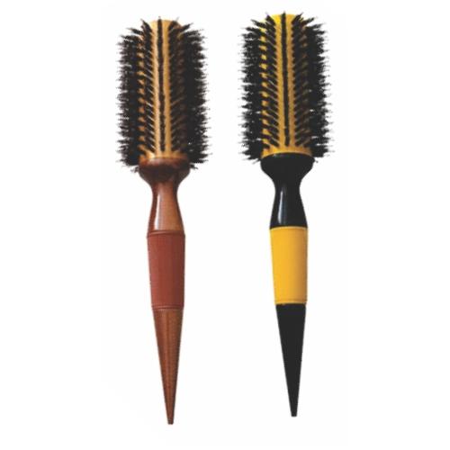 escova de cabelo escobel profissional nylon e javali 34mm un ref861