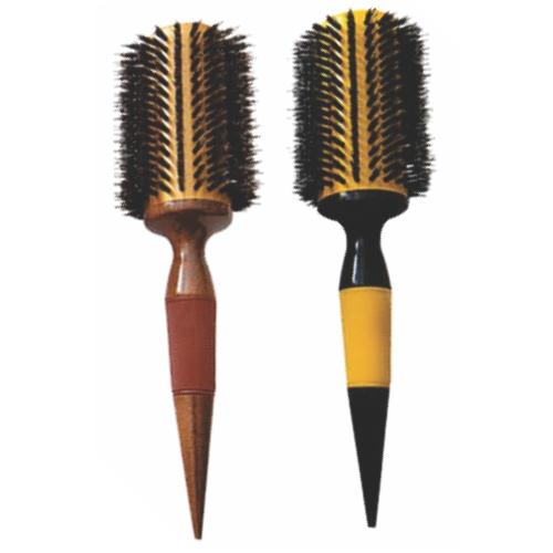 escova de cabelo escobel profissional nylon e javali 44mm un ref878