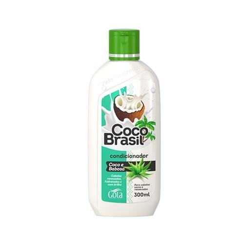 cond gota d. coco brasil 300ml babosa