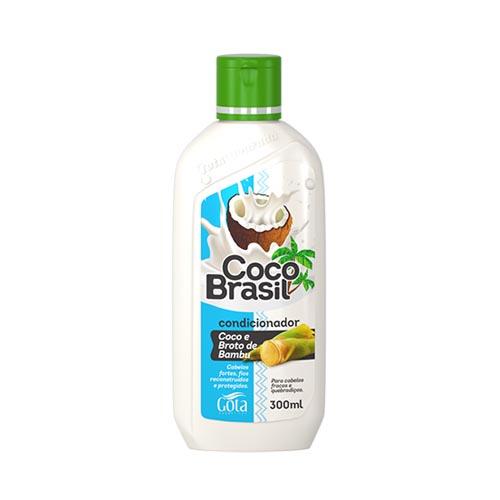 cond gota d. coco brasil 300ml broto bambu