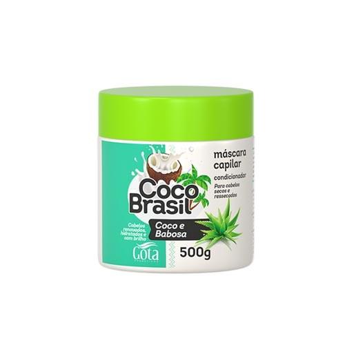 masc gota d. coco brasil 500g babosa