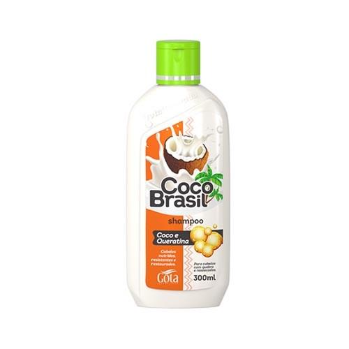 sh gota d. coco brasil 300ml queratina