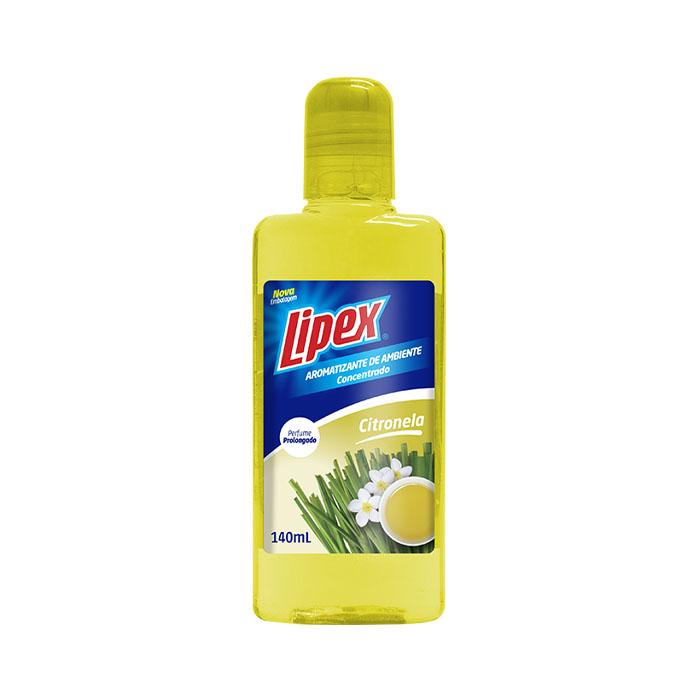 aromatizante de ambiente lipex 140ml citronela ref10012