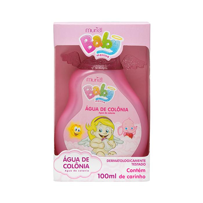 agua de colônia muriel baby menina 100ml un