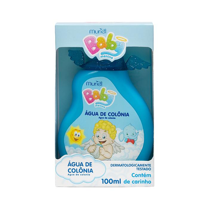 água de colônia muriel baby menino 100ml un