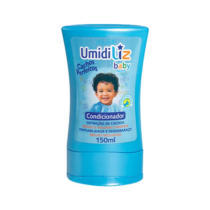 condicionador muriel umidiliz baby menino 150 ml