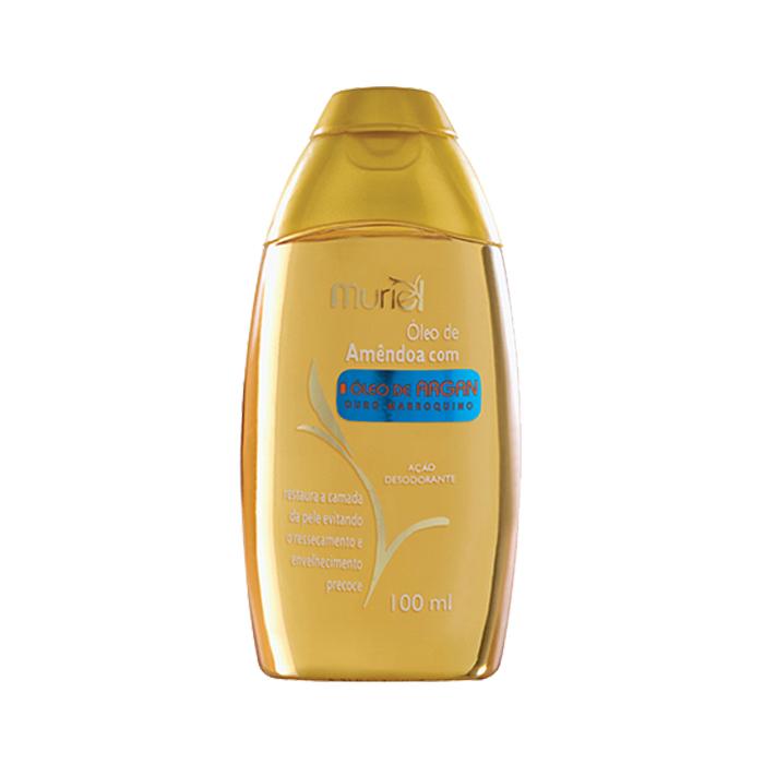 óleo muriel corporal amêndoa com argan 100ml