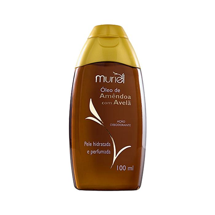 óleo muriel corporal amêndoa com avelã 100ml