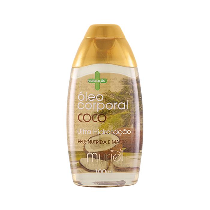 óleo muriel corporal amêndoa com coco 100ml