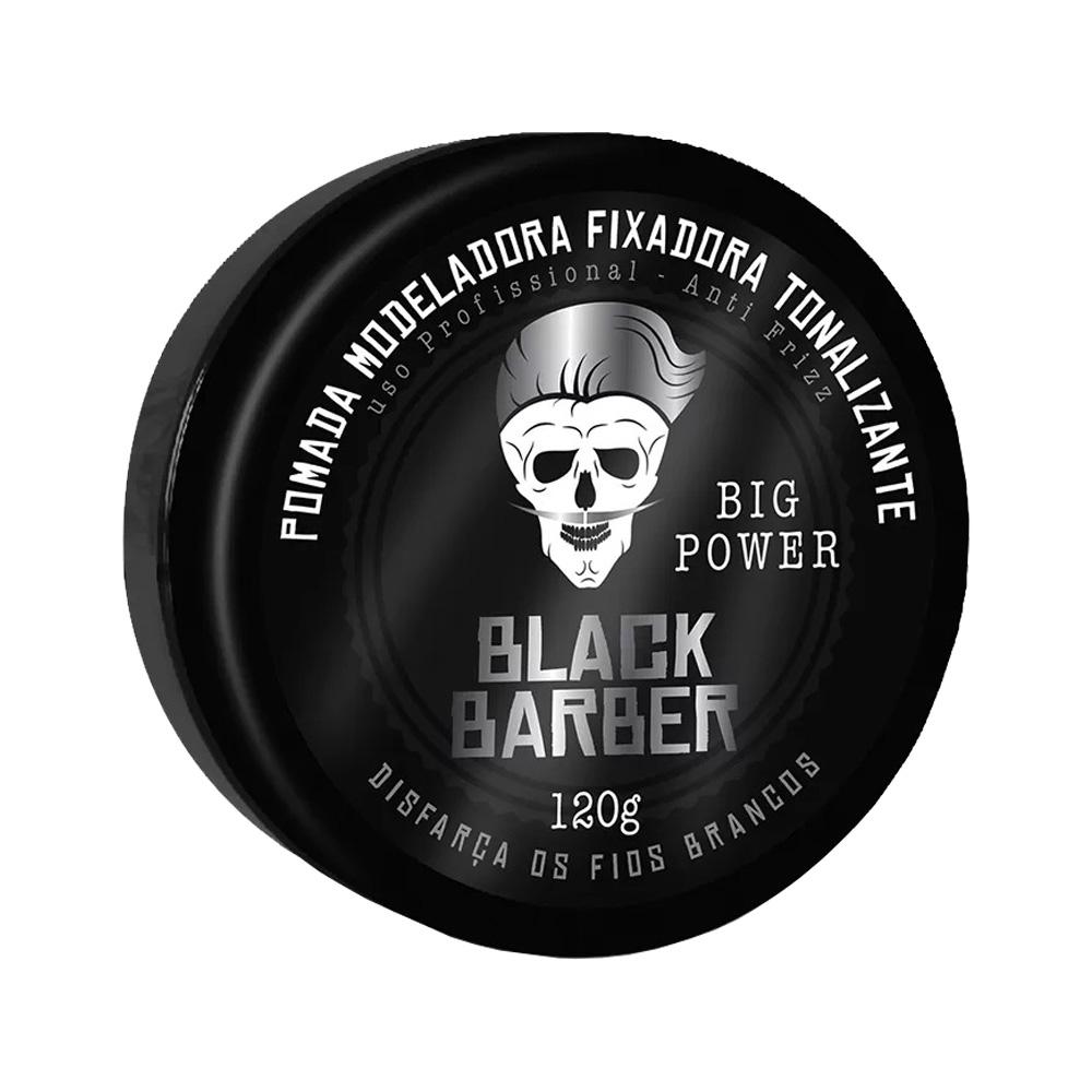 pomada muriel black barber 40g un