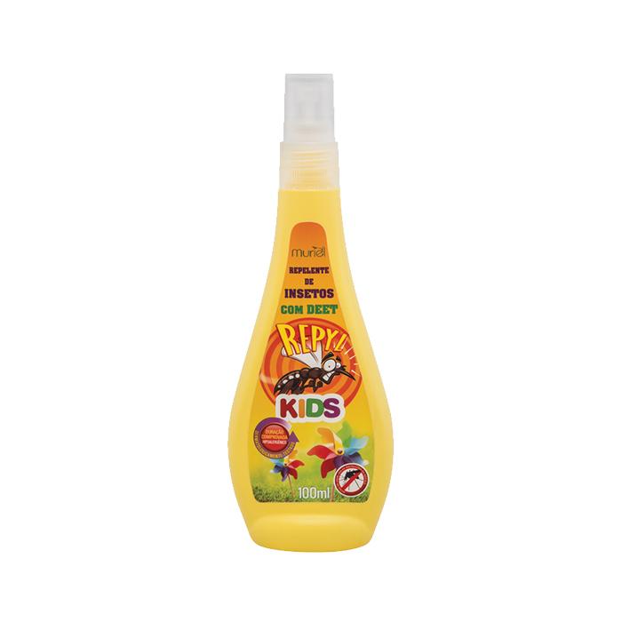 repelente muriel repyl kids spray 100ml