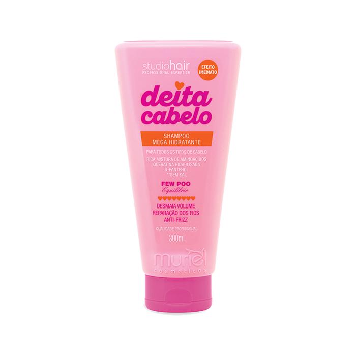 shampoo muriel deita cabelo - mega hidratante 300ml un