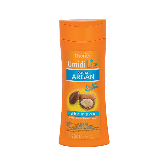 shampoo muriel umidiliz argan 250ml