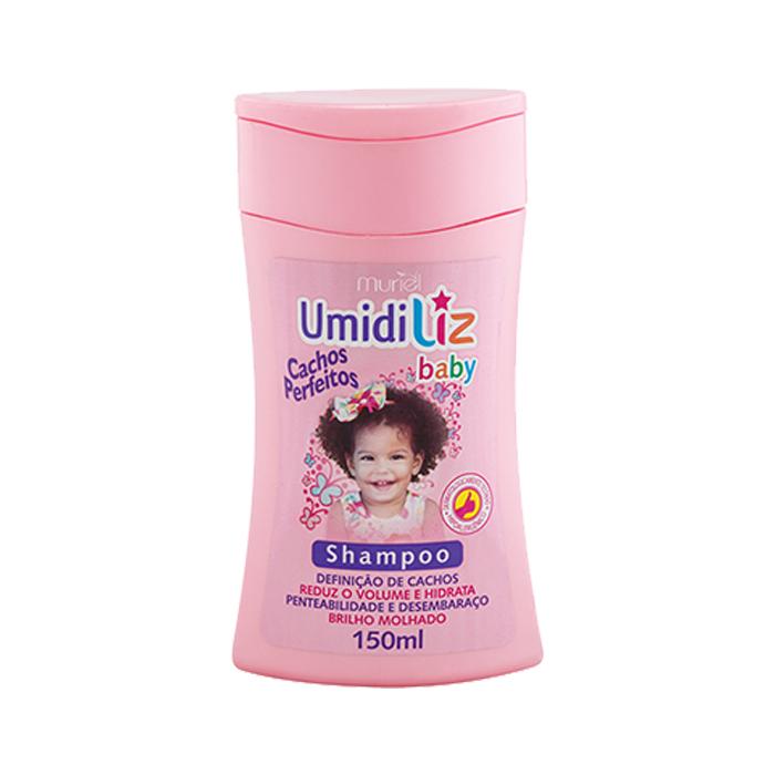 shampoo muriel umidiliz baby menina 150ml