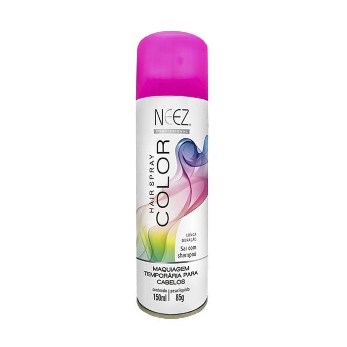 maquiagem neez cabelo rosa 150ml