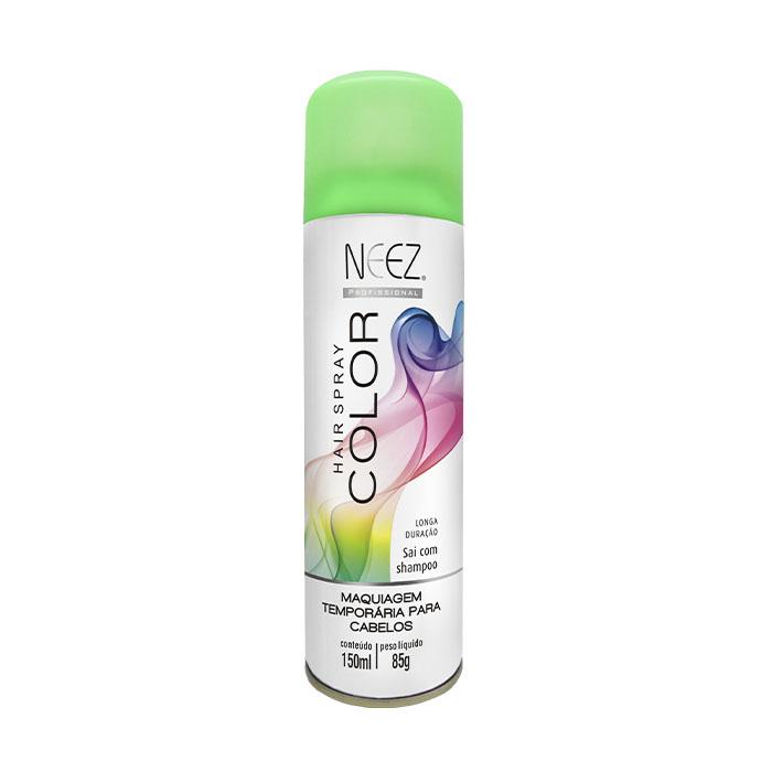 maquiagem neez cabelo verde 150ml