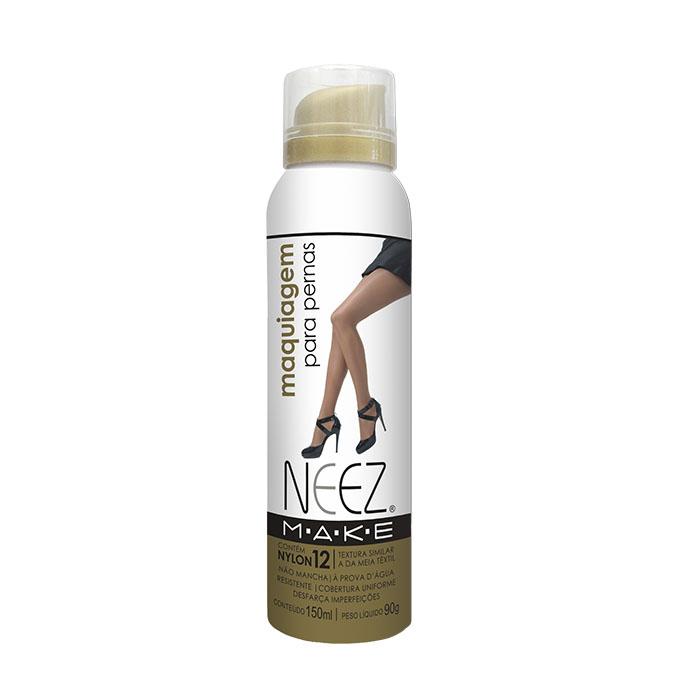 maquiagem neez pernas pele morena escura 150ml