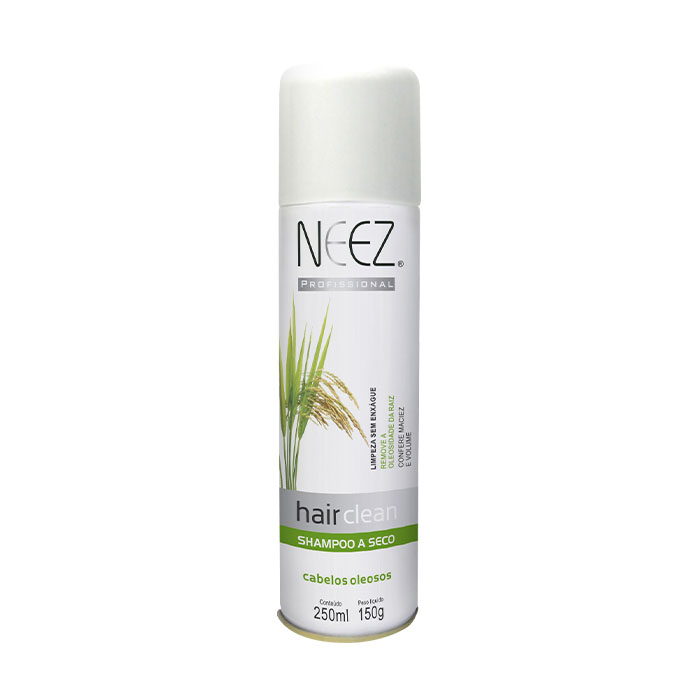 shampoo neez a seco cabelos oleosos 250ml