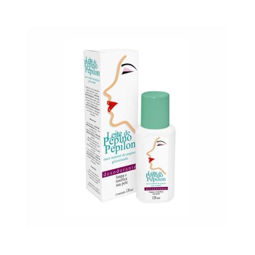 leite de pepino pepilon desodorante 120ml un