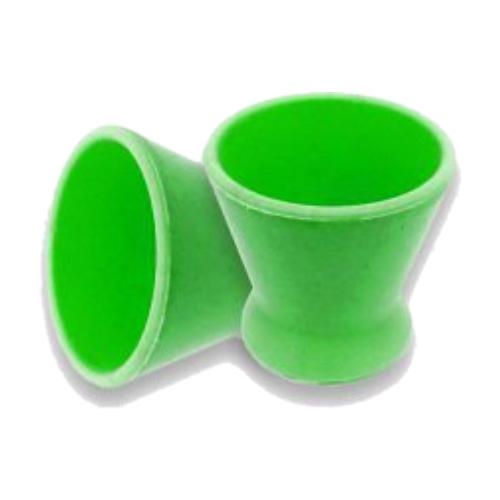 pote dappen preven silicone pequeno verde bandeira blister