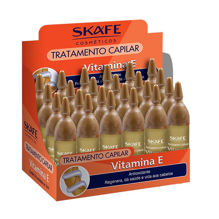 ampola skafe 10ml vitamina e 24un display