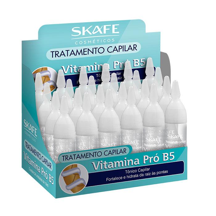 ampola skafe 10ml vitamina pro b5 24un display