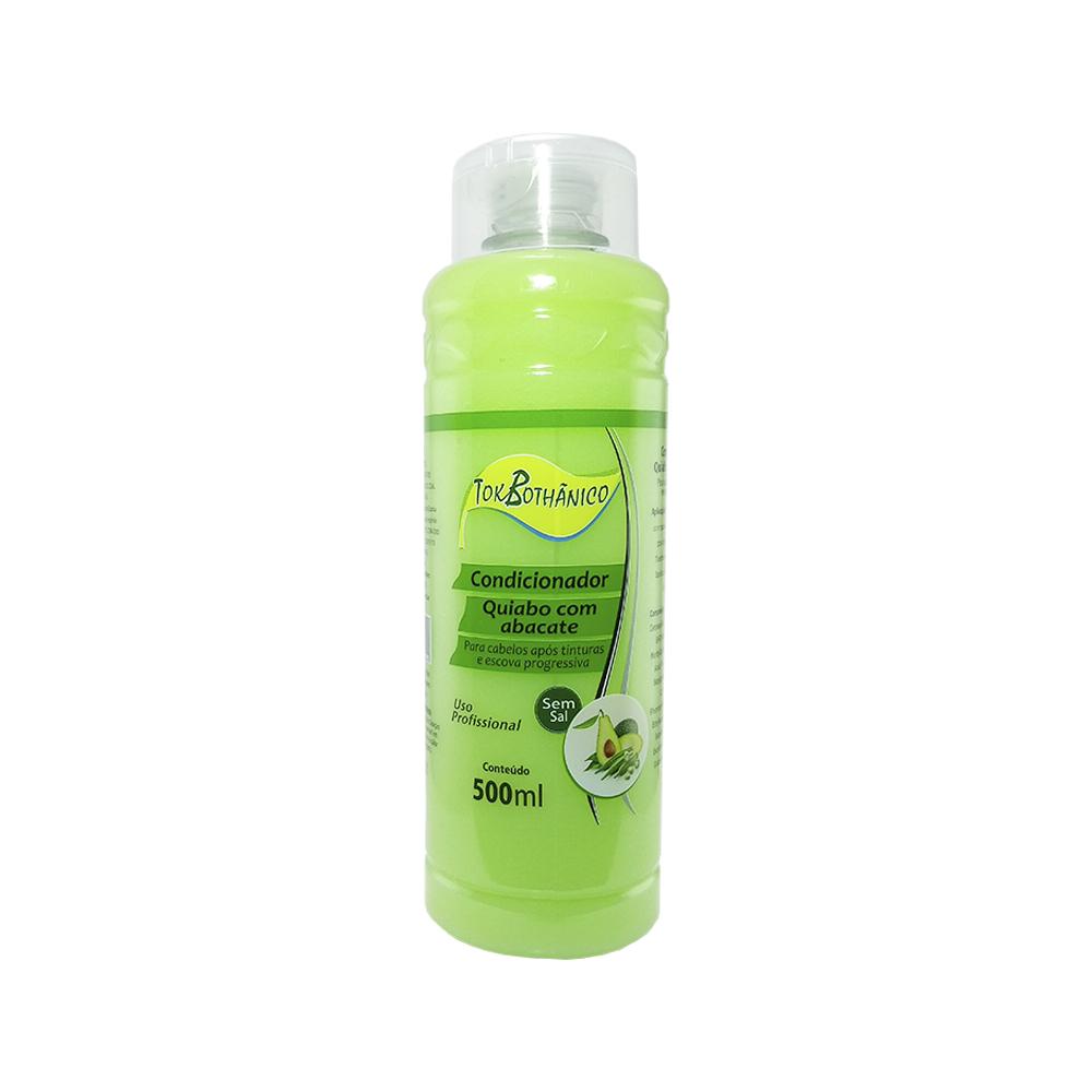 condicionador tok bothanico quiabo com abacate sem sal - 500ml