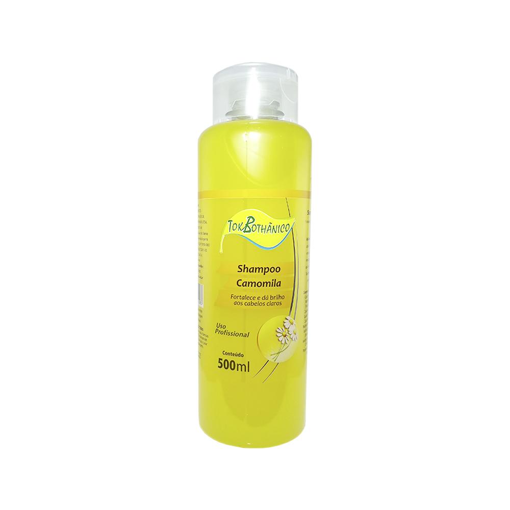 shampoo tok bothânico camomila - 500ml