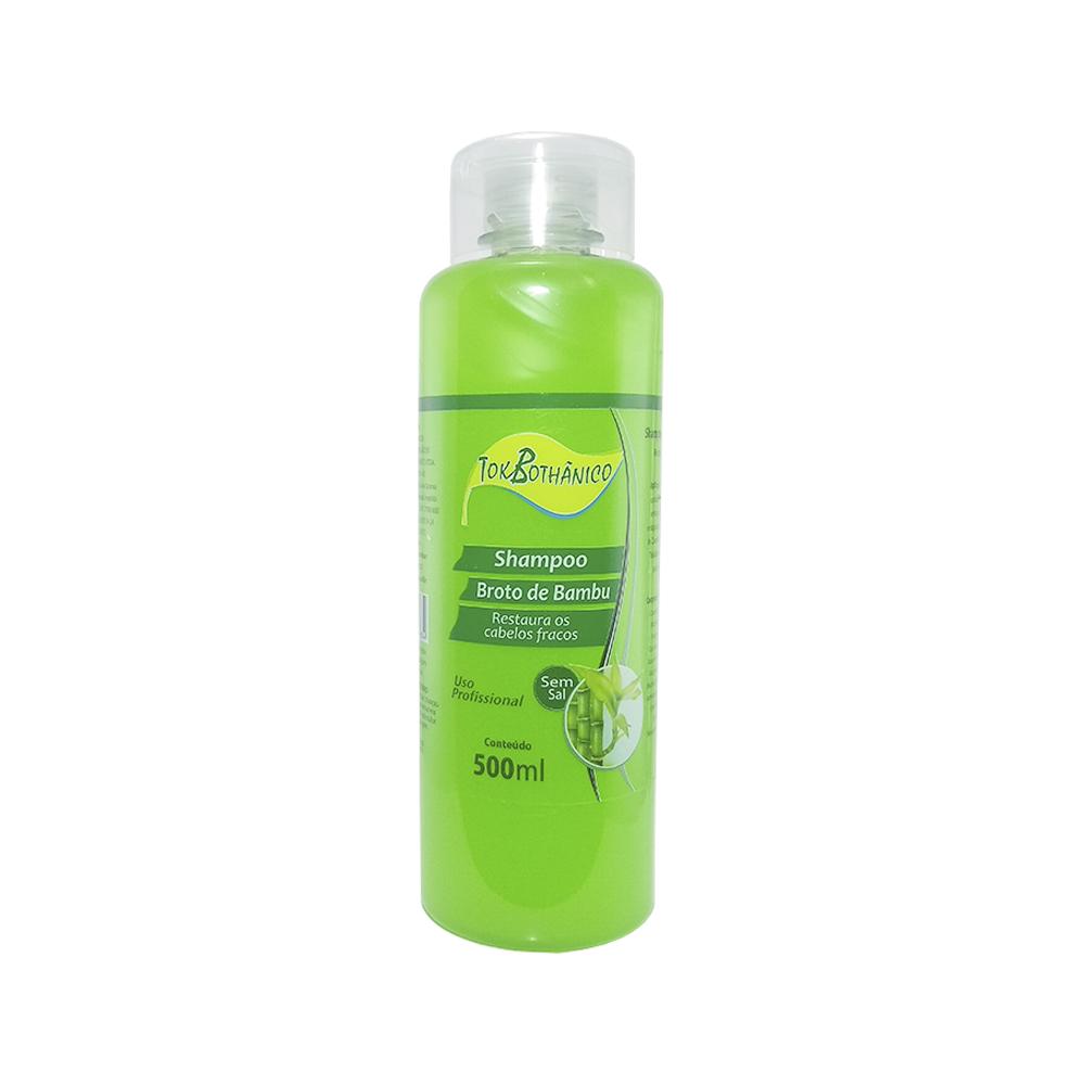 shampoo broto de bambu tok bothânico sem sal - 500ml