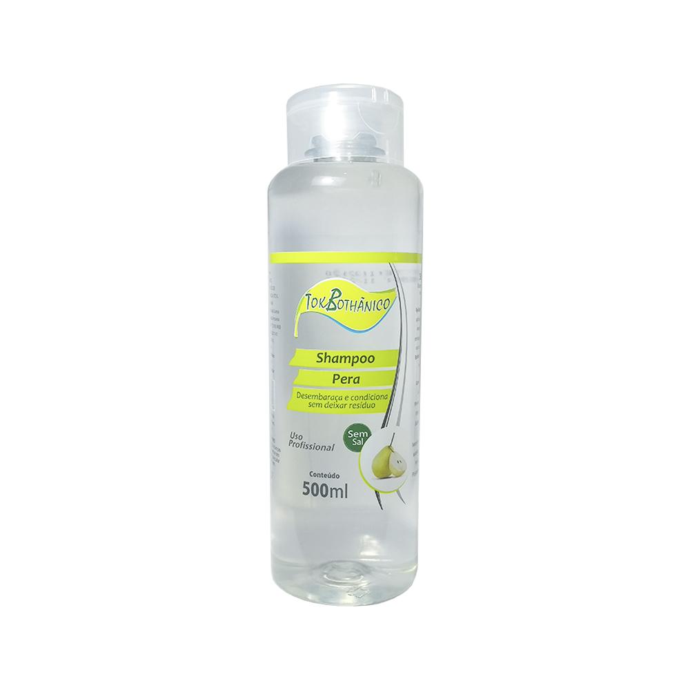 shampoo pera tok bothânico sem sal - 500ml