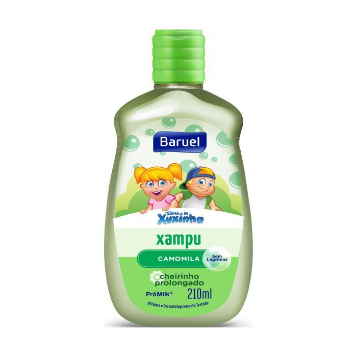 shampoo turma da xuxinha 210ml camomila