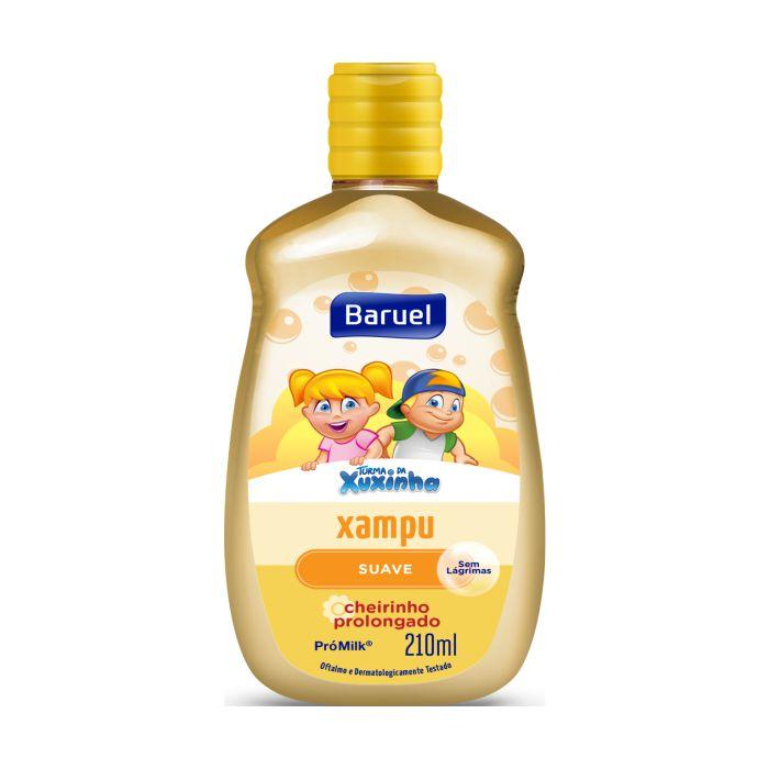shampoo turma da xuxinha 210ml suave