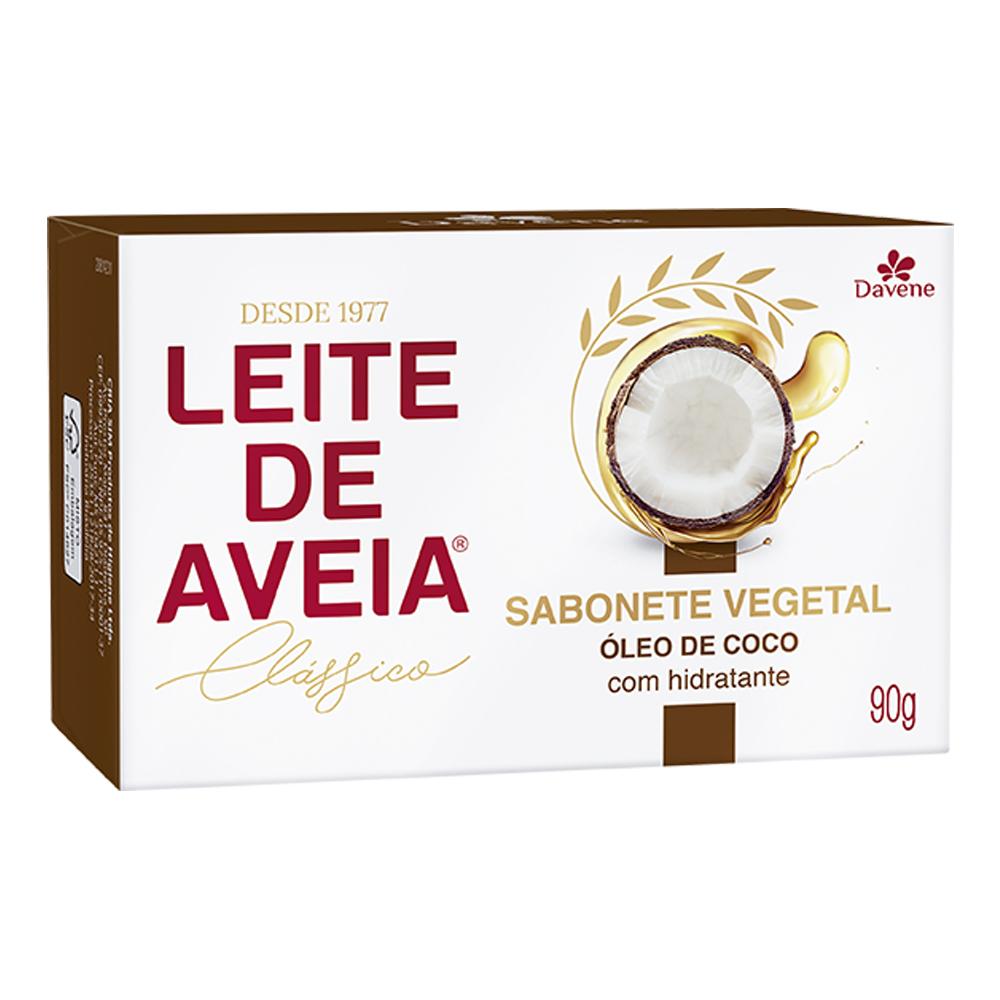 sabonete davene leite de aveia oleo coco 90g