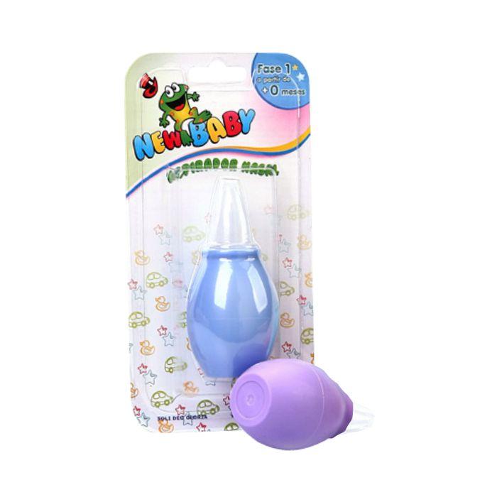 aspirador nasal new baby azul ref160