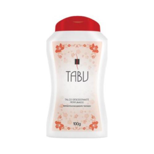 talco desodorante tabu tradicional 100g