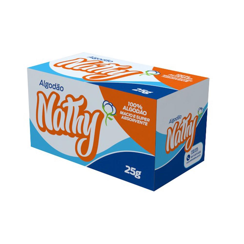 algodao nathy caixa 25g